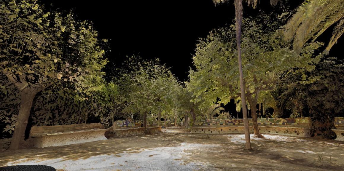 Escaner_Laser_3D_Patrimonio_InvisibleGarden_Gaudí_pf001